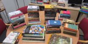 People snapped up a bargain in our book sale