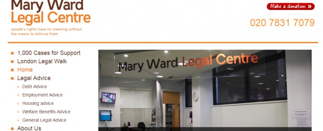 marywardlegal centre