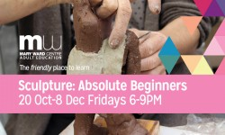 sculpture central london, beginners sculpture, ceramiccourses, courses central london, adult education, mary ward centre, casting courses,