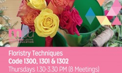 floristry techniques, floristry courses, hlborn, london, adult educationcollege, affordable courses