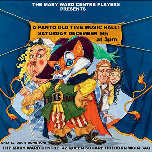 music hall performance, old time music hall, mary ward centre, adult education, central london, part time courses