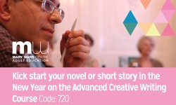 creative writing, adult education, part time courses, writing, novel, short story courses, central london, mary ward centre, affordable courses, friendly place to learn