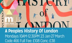 london, part time, history of london, part time course, adult education, holborn,