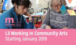 mary ward centre, community arts, part time courses, adult education