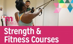 mary ward centre, strength and fitness courses