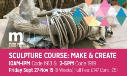 sculpture courses, london, mary ward centre