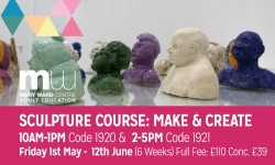 make and create, sculpture, mary ward centre