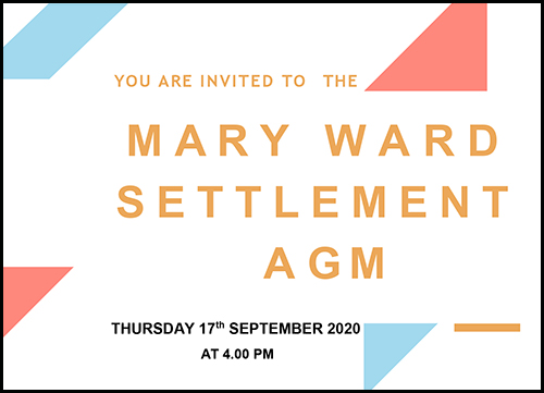 mary ward settlement